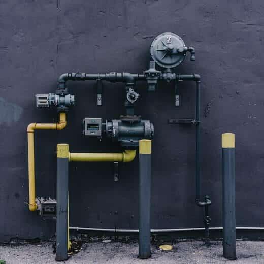 Aplicação de resina na tubulação de gás e sua importância